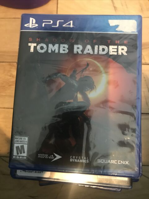 NEW  Lara Croft Shadow of the Tomb Raider  Sony PS4 Pro PlayStation 4 Video Game