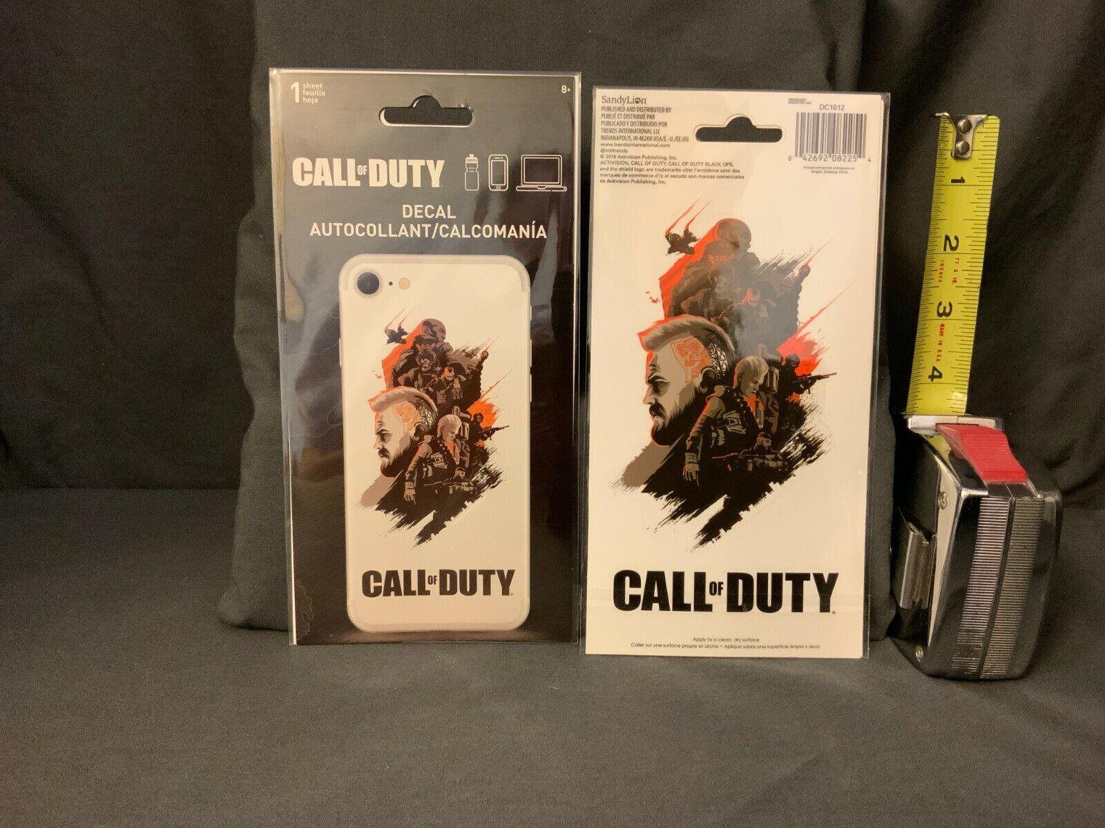 Call of Duty Phone Decal Sticker Video Game Sandy Lion Phone Laptop Bottle War