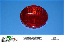 MOTO GUZZI 125 STORNELLO / 125 SPORT SCRAMBLER   REAR LIGHT LENSE - 85mm