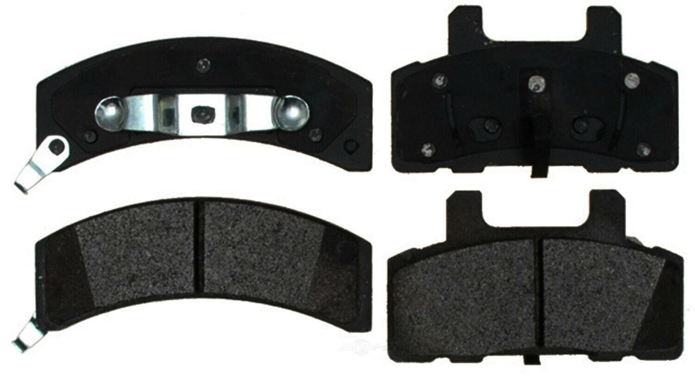 Disc Brake Pad Set-Semi Metallic Disc Brake Pad Front ACDelco Advantage 14D368M