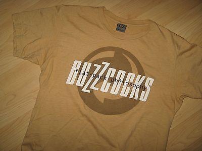 Buzzcocks Tee - 2006 Flat Pack Philosophy Concert Tour Punk Pop Album T Shirt M
