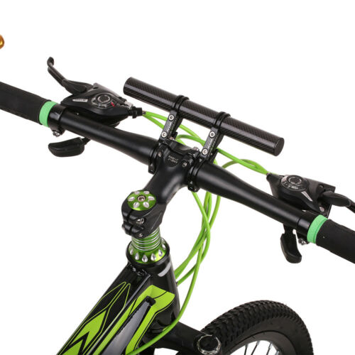 GUB Road Bicycle 31.8mm Handlebar Extender Double Mount Extensions Carbon Fiber