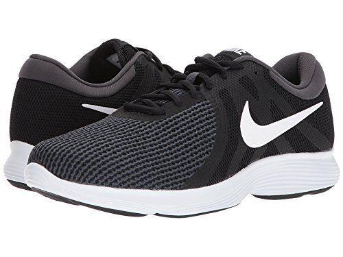 Nike hombre revolution 4 running antracita zapatos, Negro / Blanco antracita running 8 de reducción de precios aa7402-001 ea42d1