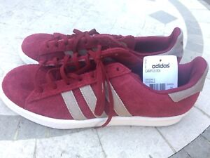 a35f219737f NEW ADIDAS ORIGINALS CAMPUS 80s STANFORD SZ 9 SHOE BIZ CARDINAL RED ...