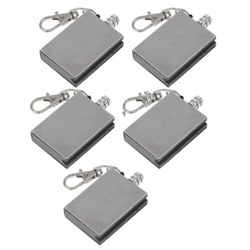 5x Stainless Steel Waterproof Matches camping outdoors lighter match survival