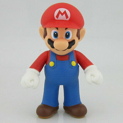 "Nintendo New Super Mario Bros Brothers Mario Toy PVC Action Figure 5"" 12cm Gift"