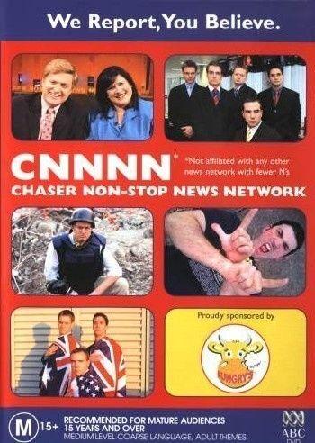 1 of 1 - CNNNN - Chaser Non-Stop New Network (DVD, 2004)