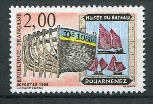 TIMBRE-FRANCE-NEUF-N-2545-MUSEE-DU-BATEAU-DUNKERQUE