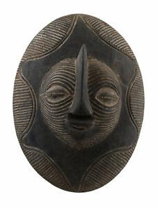 Piccolo-Scudo-Songye-Kifwebe-Rdc-Ex-Zaire-29-CM-Arte-Tribale-Africano-16896