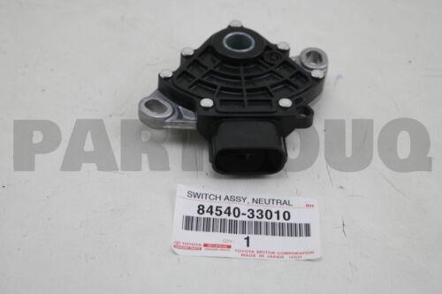 NEUTRAL START 84540-33010 8454033010 Genuine Toyota SWITCH ASSY