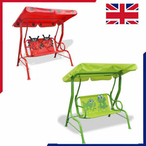 Admirable Details About Kids Swing Seat Outdoor Garden Children Hammock Chair With Canopy Red Green Bralicious Painted Fabric Chair Ideas Braliciousco