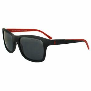 398faee7262d Polo Ralph Lauren Sunglasses 4095 550481 Black & Red Grey Polarized ...