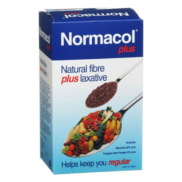 NORMACOL PLUS 200G GRANULES NATURAL FIBRE PLUS LAXATIVE HELPS KEEP YOU REGULAR