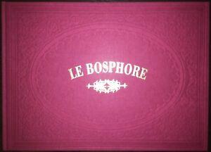 Ottoman-Constantinople-Joseph-Schranz-Bosphore-12-Gravures-New-Print