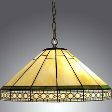Item 1 Vintage Light Chandelier Ceiling Hanging Lamp Tiffany Style Stained  Glass Shade  Vintage Light Chandelier Ceiling Hanging Lamp Tiffany Style  Stained ...