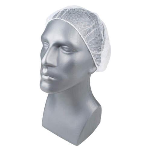 """CONDOR 23KX30 Hairnet,Polyester,18/"""",White,PK1000"""