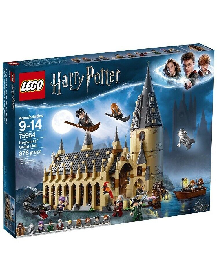 2018 LEGO 75954 Harry Potter Hogwarts Great  Htutti 878 Pieces, NIB SHIP FROM STORE  comprare sconti