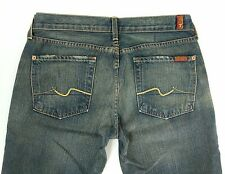 7 Seven for all Mankind Womens Jeans Bootcut Denim Distressed Size W30 L34