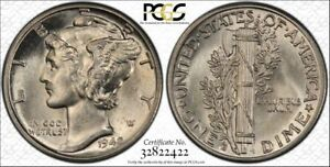 1942-D-D-PCGS-MS62FB-Mercury-RicksCafeAmerican-com