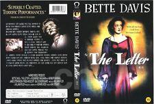 The Letter 1940 DVD William Wyler Bette Davis Gale Sondergaard
