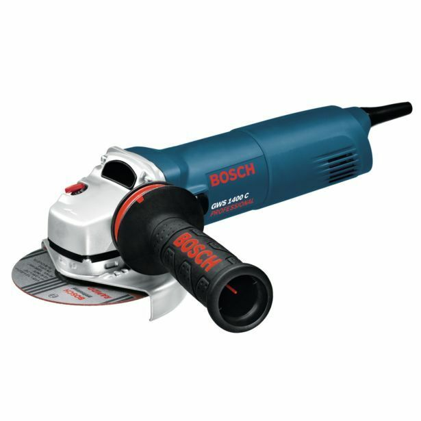 Bosch ANGLE GRINDER GWS1400C 1400W 125mm 11000rpm Anti-Rotation Protective Guard