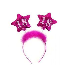 Haarreifen-18-Geburtstag-Haarschmuck-Geburtstag-18-Jahre-Haarreif-pink-rosa