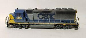 Athearn-Powered-Diesel-Locomotive-CSX-6100-HO-Scale