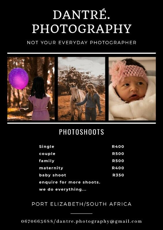 Photography - Ad posted by Deon