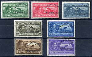 * Traveling Stamps Albania 1931 Tirana-rome Airmail Set Lhm