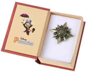 Disney Pinocchio 80th Pin Badge Japan import NEW Disney Store