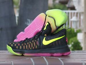timeless design b3544 d0910 Image is loading Nike-Zoom-KD-IX-9-Flyknit-UNLIMITED-Men-