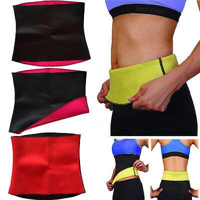 Women Hot Neoprene Body Shaper Slimming Waist Trainer Cincher Slim Belt Yoga