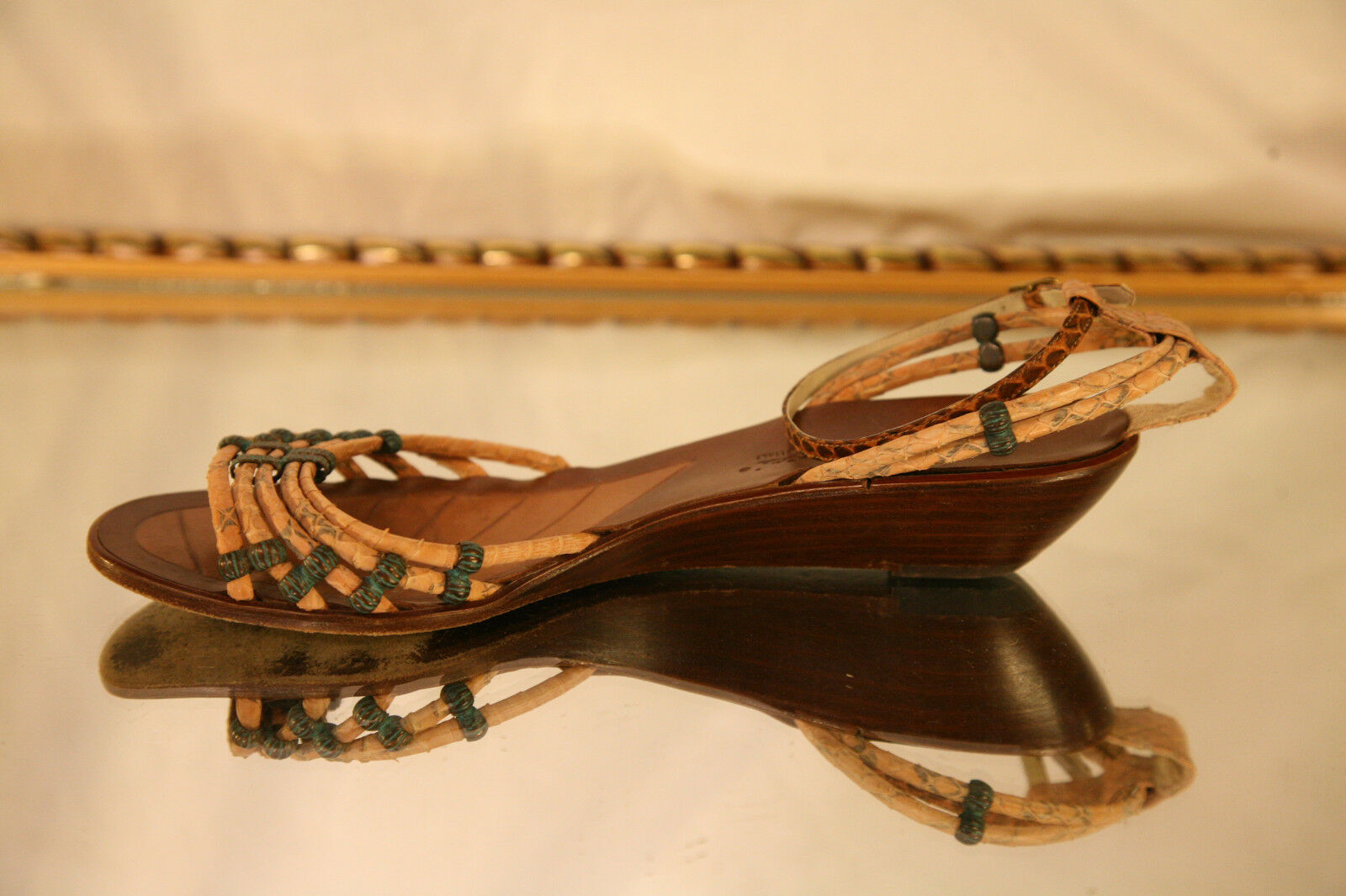 Sesto Sesto Sesto Meucci Open Toe Strappy Sandle Größe 8 1 2 M US 37fba5