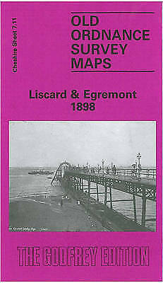 Liscard and Egremont 1898: Cheshire Sheet 7.11 by Carol Bidston (Sheet map, fold