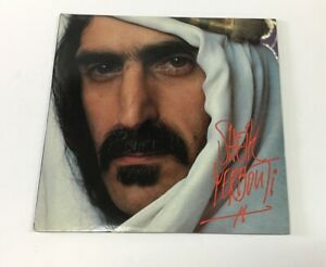 1979 Frank Zappa Sheik Yerbouti Lp Zappa Records Srz 2