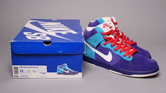 d2d0fbd9 Nike Dunk High Pro SB German Blue White Chlorine 13 Oceanic Airlines Lost  for sale online | eBay