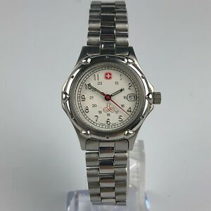 Swiss-Military-The-Genuine-Womens-096-0690-Stainless-Steel-Watch