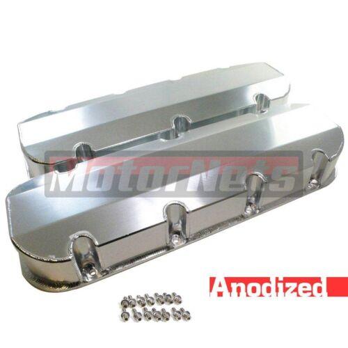 BBC Big Block Chevy 427 454 496 502 Fabricated Aluminum Tall Valve Covers NoHole