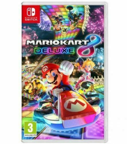 Mario Kart 8 Deluxe for Nintendo Switch - Brand New Sealed