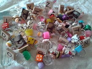 Lot-of-10-handmade-mixed-rings-kawaii-cute-kitsch-Ladies-Adjustable-NWOT