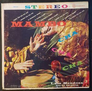 Luis-Mendoza-and-his-Orchestra-034-Mambo-Cha-Cha-Cha-034-Vinyl-Record-LP