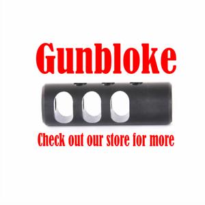 Muzzle brake LIGHT ALUMINIUM 1 2x20(1 2 UNF)  UK HOWA rifles Bored to suit