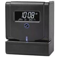 New Listinglathem Thermal Print Time Clock System Black 2100hd