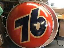 "Vintage -  ""76 Oil Company""1960's Gasoline Station Sign. 5' Round - RARE!!!!!!!"