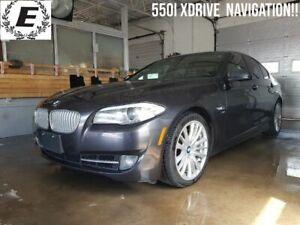 2012 BMW Série 5 550i XDRIVE/NAVIGATION/LEATHER!!