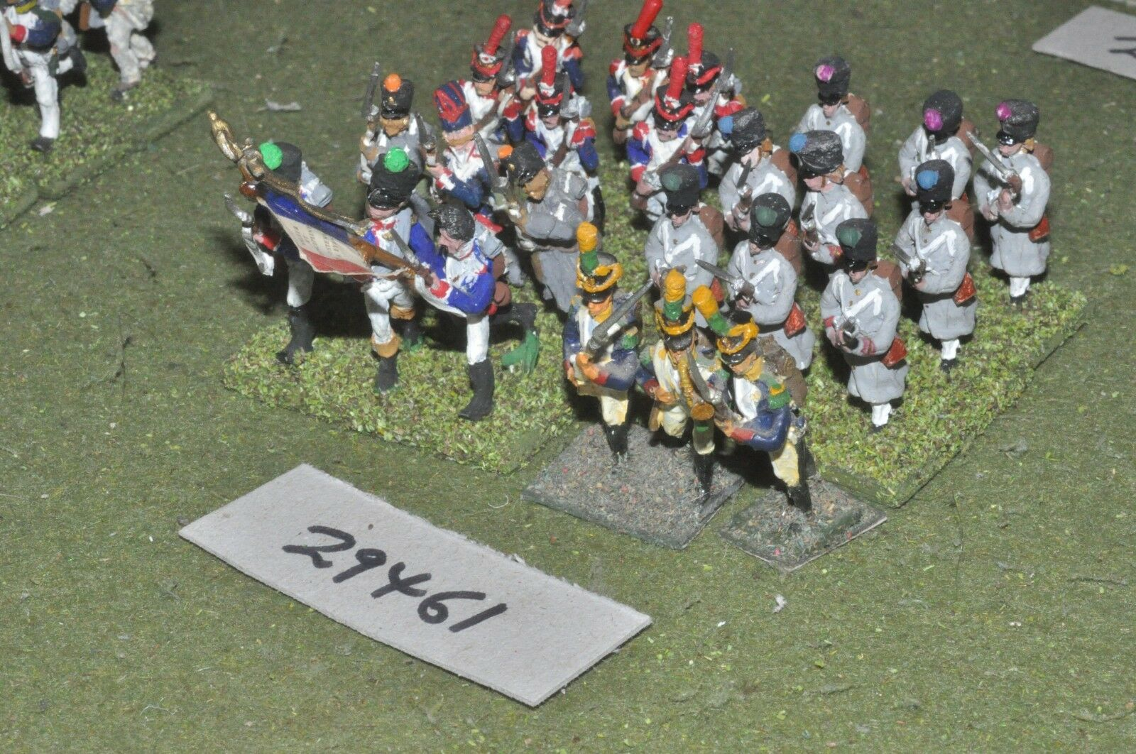 25mm napoleonic   french - line grenadiers 24 figures - inf (29461)
