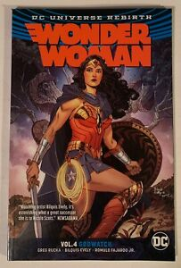 Dc-Comics-Wonder-Woman-Rebirth-Godwatch-Vol-4-Tpb-Graphic-Novel-16-24-Annual-1