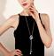 Damen-Halskette-Mode-Schmuck-Geschenk-Tochter-Mutter-Anhaenger-Gold-lange-Kette Indexbild 8