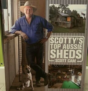 Scott Cam - Scotty's Top Aussie Sheds - 220 pages CRAZY SALE NOW ON