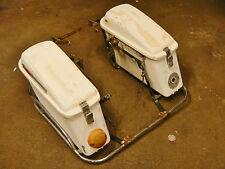 74 MOTO GUZZI ELDORADO 850GT POLICE SADDLE SIDE BAGS STORAGE BOXES ASY TRAVEL